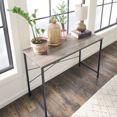 If your home doesn't have a dedicated mudroom or foyer, you can still create an entryway that's welcoming and functional. Get our top tips in our latest blog post. #Entryway #Mudroom #HomeOrganization Office Furniture Stores, Furniture Deals, Online Furniture, Natural Furniture, Large Furniture, Creating An Entryway, Industrial Style Desk, Home Office Space, Desk With Drawers