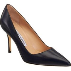 BB Manolo Black Pump