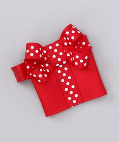 Love this Red All Wrapped Up Clip by Hair Flair on #zulily! #zulilyfinds