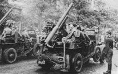 75mm działo samobieżne PF621L, Polish Army artillery, pin by Paolo Marzioli