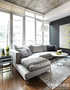 Maybe for more formal lounge we look at combo of white leather ...