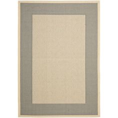 This outdoor rug has a brown background and displays stunning panel color of natural. This power-loomed rug is resistant to mold, mildew, sun, water and other elements.