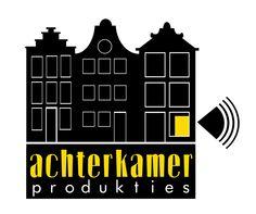 Logo voor evenementenbureau www.achterkamer.com