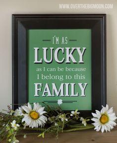 5 free St Patrick's Decor prints