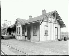 Train station in Raven Virginia