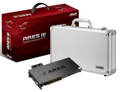 Двопроцесорна відеокарта ASUS ROG Ares III