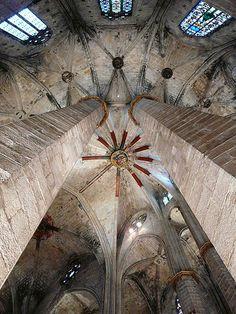 Església de Santa  Maria del Mar - Barcelona