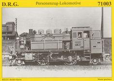 Dampf Personenzug Tenderlokomotive 1936
