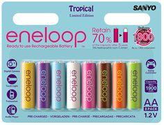 Sanyo Eneloop AA Tropical Edition