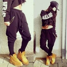 wearing timberlands in summer women - Google Search