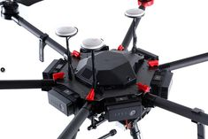 DJI A3 Pro Flight Controller on the Matrice 600 drone