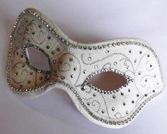 Ivory Masquerade Mask