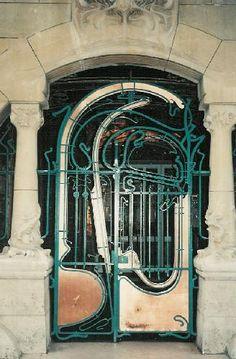 Art Nouveau Doors - ☀ the revolution takes us home   Doors ...