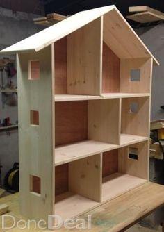 Simple Wood Doll House Plans Plans DIY Free Download Log