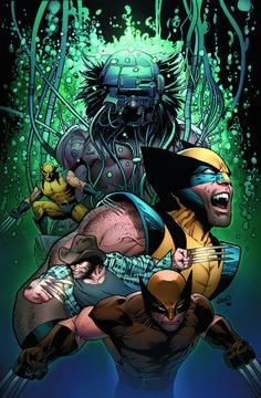 GREG LAND ART   Greg Land's Death of Wolverine #4 Variant Cover