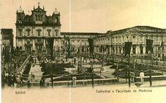Catedral e Faculdade de Medicina da Bahia ex Colegio dos Jesuitas de Salvador