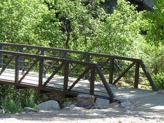 Boulder Creek Path in Boulder Canyon