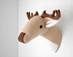 """I got the following very exciting email on January 16 from the Design Director for the Craft Department at Simplicity: """"Hi Abby- Happy New Year! Hope all is well with you. I've been seeing several versions of stuffed animal heads mounted on plaques, a funny take on trophy heads, and wondered whether you would be...Read More »"""