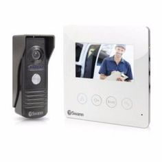 New Swann Doorphone Video Intercom With Colour 43 LCD Monitor Brand new item Color intercom with audio 43 320 x 240 pixel LCD monitor . Intercom, Security Surveillance, Lcd Monitor, Home Security Systems, Appliances, Phone, Colour, Accessories