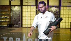 Peña, el 'galán' de Top Chef, abandona el concurso a sólo tres programas de la final Chef Jackets, Top, Pageants, Best Recipes, Cooking Recipes, Crop Shirt, Shirts