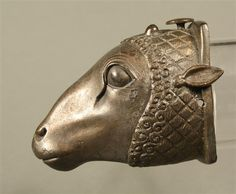 Etruscan bronze ram's head. End of the 6th century BC.