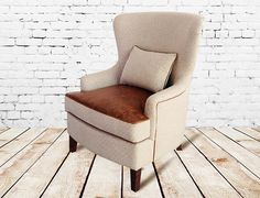 Alder and Tweed Mayfield Chair. $1,335.