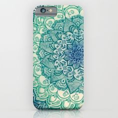 Emerald+Doodle+iPhone+&+iPod+Case+by+Micklyn+-+$35.00