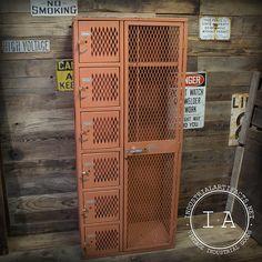 Vintage Industrial Factory Metal Storage by IndustrialArtifact, $275.00