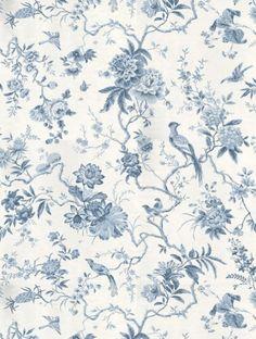 Sanderson Wallpaper | Traditional Florals & Stripes