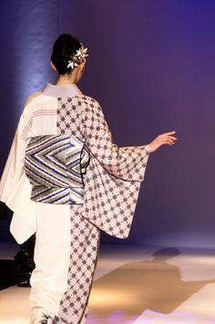 JOTARO SAITO 2015 fashion show in kimono Salone