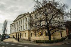 Racibórz.Budynek sądu z 1823 roku