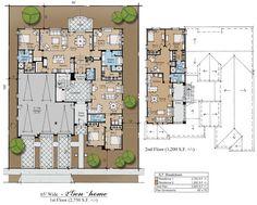 multigenerational house plans | 3Gen hacienda Plan