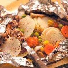 Taste of Home- Hobo Knapsacks Recipe