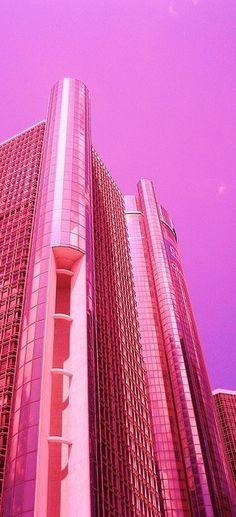 Pink Skyscraper!