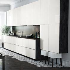 61 Best White Gloss Kitchens Images White Gloss Kitchen