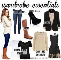 winter wardrobe essentials for women