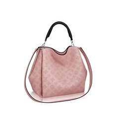 Discover Louis Vuitton Babylone PM: With the Babylone bag, the House introduces an updated version of Mahina calfskin. The intricate perforation work is more refined than ever, for an understated signature. Modern lines and sophisticated details braided handle, contrast-edge dyeing, fashionable colors make the Babylone a pleasure to wear. Comfortable to carry on elbow or shoulder, this supple bag is surprisingly roomy.