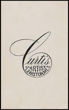lovely C.  great lettering.