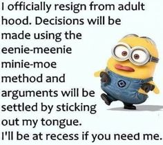 67 Ideas Funny Love Quotes Minions Hilarious For 2019 Funny Minion Pictures, Funny Minion Memes, Minions Quotes, Jokes Quotes, Funny Texts, Funny Humor, Funny Stuff, Qoutes, Memes Humor