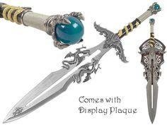 Dragon Wizard Fantasy Sword