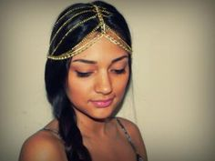 Waterfall Head Piece Crown