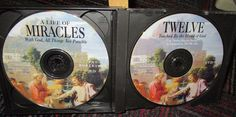 """CBN CHRISTIAN A LIFE OF MIRACLES CD PAT ROBERTSON & """"TWELVE"""" TOUCHED BY GOD DVD"""