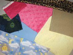 The Activity Mom: Baby Activity - Sensory with Fabric