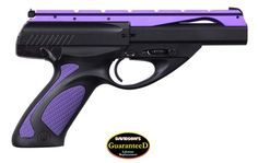 Babe, if you see this, I'd like to change out mine to have this purple slide and purple grips one day. Beretta round mag, barrel---pretty in purple Purple Gun, Purple And Black, 22 Pistol, 22lr, Cool Guns, Awesome Guns, Fire Powers, Military Guns, Guns And Ammo