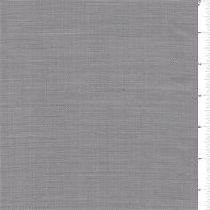 Sterling grey and ivory cross hatched. This lightweight wool fabric has a soft, crisp feel.Compare to $25.00/yd