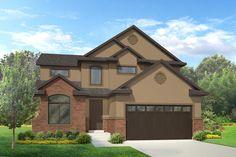 Caroline - Traditional style house plan - Walker Home Design