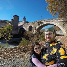 Ponte Fabricio #Rome #Roma #Italia #Italy #Travel #Viagem