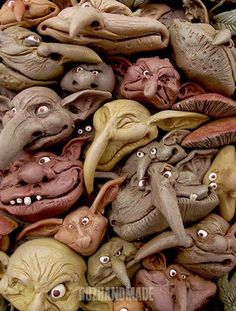 sculpture | Polymer Clay Daily | so looks like its based on the brilliant work of Brian Froud