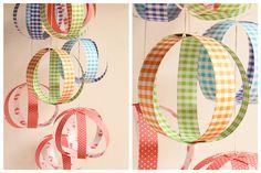Esferas de papel