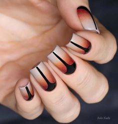 Nails Geometric Ideas 2018